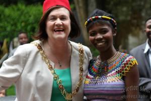 Lord Mayor Mary Shields