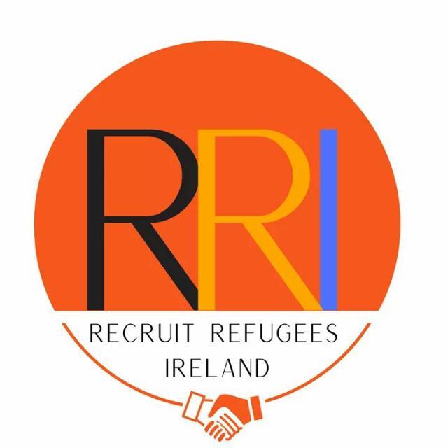 recruit Refugees ireland logo